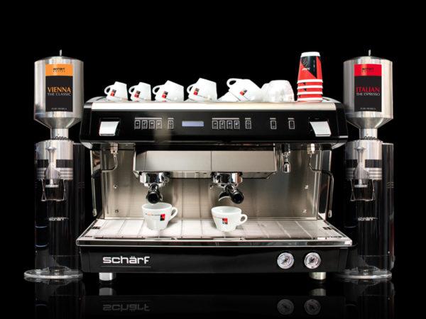 schärf Xervo Kaffeemaschine Siebträger