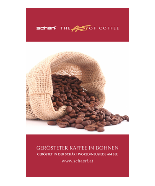 Schärf Gastronomie Kaffeesorte